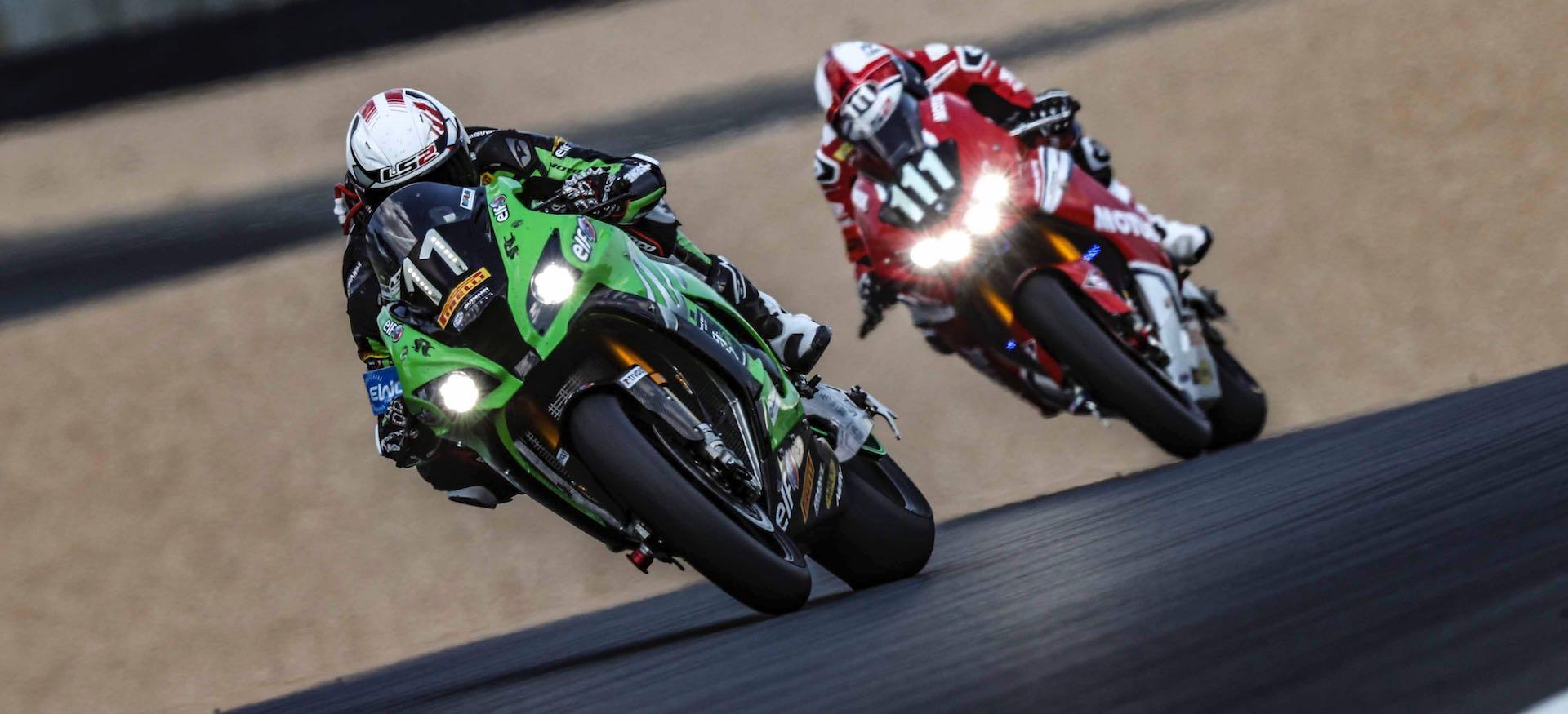 RK Chain en Le Mans Francia